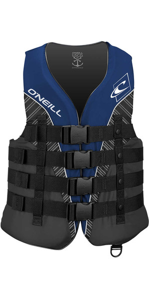 Chaleco de impacto 2018 O'Neill Superlite 50N CE PACIFIC / SMOKE / BLACK 4723